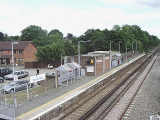 Edenbridge railway station