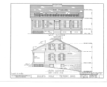 Edgerton House, Buckland Avenue, Fremont, Sandusky County, OH HABS OHIO,72-FREMO,2- (sheet 2 of 4).png