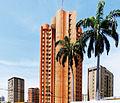 Edificios y flora tropical en el sector Indio Mara, Maracaibo.jpg
