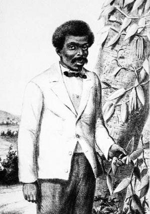 Edmond Albius - Portrait of Edmond Albius, circa 1863