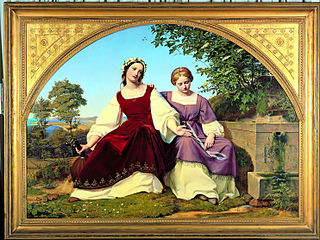 Two Girls at the Well