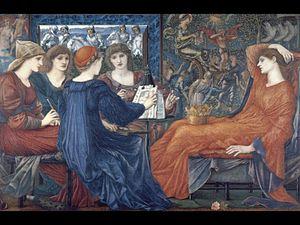 Poems and Ballads - Laus Veneris, c.1875, by Edward Burne-Jones