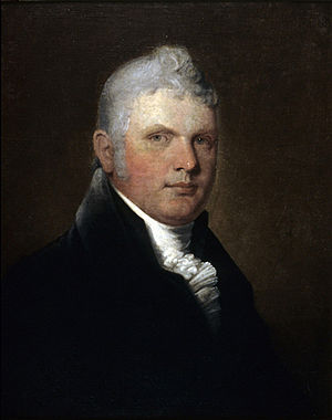 Edward Mortimer (businessman) - Edward Mortimer, c 1815 by Robert Field. Art Gallery of Nova Scotia.