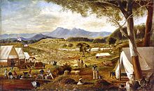 Edward Roper - Gold diggings, Ararat, 1854.jpg