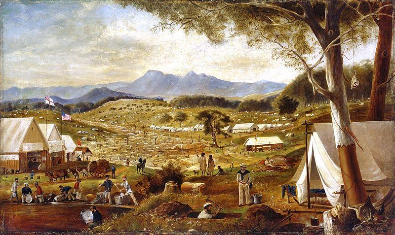File:Edward Roper - Gold diggings, Ararat, 1854.jpg