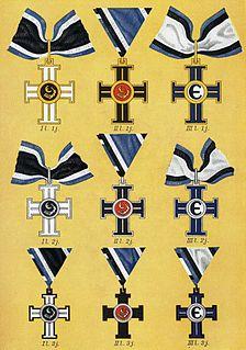 Cross of Liberty (Estonia) medal established by former Prime Minister of Estonia Konstantin Päts