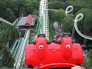Python (Efteling) roller coaster