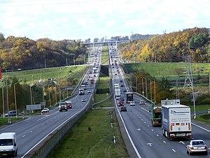 Kaunas County - European route E85 in Kaunas.