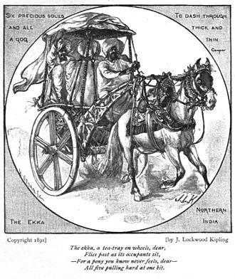 Ekka (carriage) - Image: Ekka Kipling