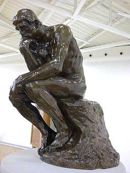 El Pensador (1903) de Auguste Rodin en el Museo Soumaya (02)