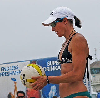 Elaine Youngs American beach volleyball player