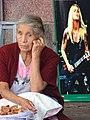 Elderly Woman with Rock Star - Cholula - Puebla - Mexico (15545762475).jpg