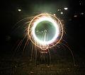 Electronic flashingwheel Catherine fireworks Holland.jpg