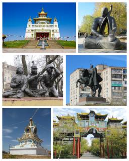 Elista City in Kalmykia, Russia