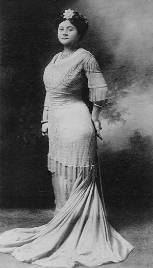 Elizabeth Kahanu Kalanianaʻole - Photograph of Princess Kalanianaʻole