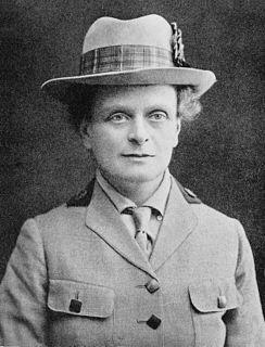 Elsie Inglis Scottish doctor and suffragist