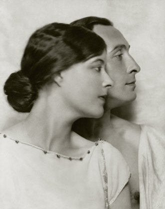Lionel Atwill - Lionel Atwill and Elsie Mackay (1922)
