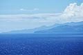 Em primeiro plano a ilha de São Jorge e em segundo plano a ilha do Pico, vista das Cinco Ribeiras, ilha Terceira, Açores.jpg