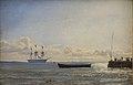 Emanuel Larsen - A Frigate at Anchor - KMS3857 - Statens Museum for Kunst.jpg