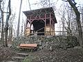 Emil von Behring's-Elsenhöhe-Ausguck auf Marburger Schloss (Annablick) 2016-02-26.JPG