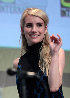 Emma Roberts na San Diego Comic-Con International v roce 2015