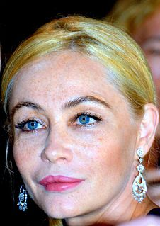 Emmanuelle Béart French-Occitan actress