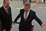 Empfang IOC Präsident Thomas Bach mit Jacques Rogge (5 von 9).jpg