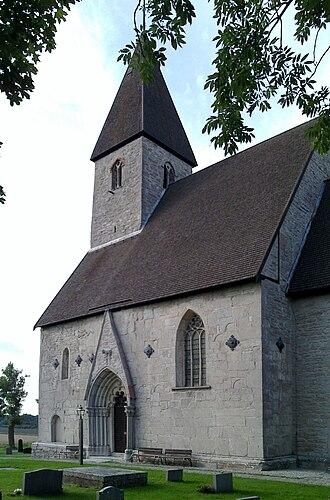 Endre Church - Image: Endre kyrka Gotland torn 3