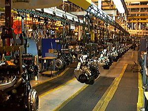 Kenosha Engine - Kenosha Engine assembly on 19 October 1997