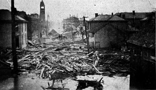 Great Flood of 1913 in Columbus, Ohio