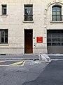 Entrée bureau pompiers Rue Corneille à Lyon.jpg