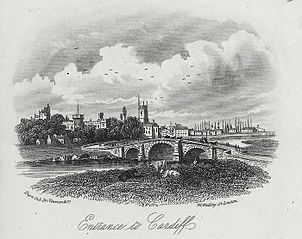 Entrance to Cardiff