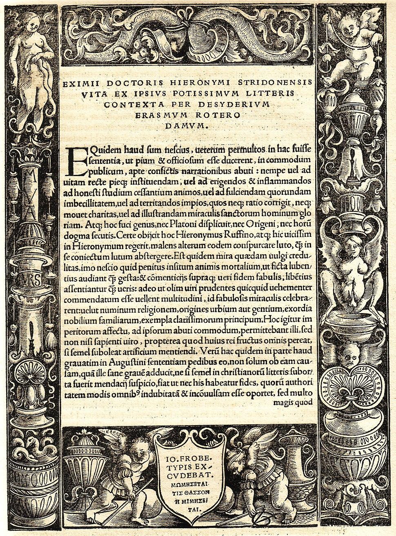 Erasmus hieronymus