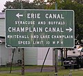 Erie Canal Split Sign at Waterford New York.jpg
