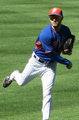 Erik Goeddel - Goeddel with the Mets in 2016