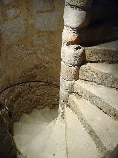 file escalier h lico dale de la tour de montlh ry jpg. Black Bedroom Furniture Sets. Home Design Ideas