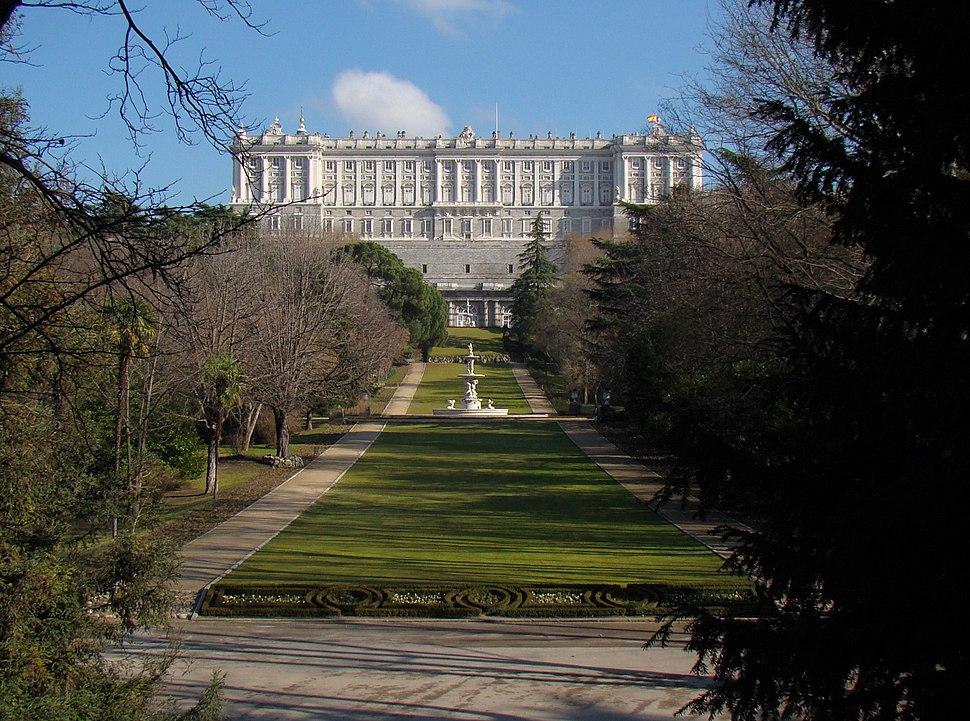 Espa%C3%B1a - Madrid - Campo del Moro - Entrada