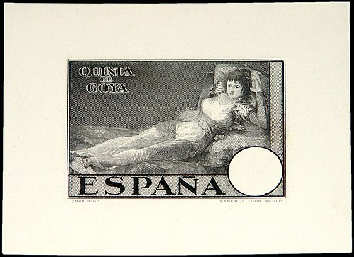 Goya - Stamp Collecting Worldwide postage stamps,