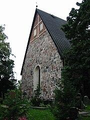Der Dom von Espoo stammt aus dem späten 15. Jahrhundert.