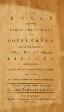 Essay on the First Principles of Government 2nd Ed.djvu