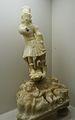 Estàtua de sant Miquel Arcàngel, segle XVI, museu de la Ciutat de València.JPG