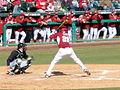 Evansville at Arkansas baseball, 2013 009.jpg