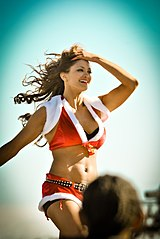 Eve Torres na Tribute to the Troops w Fort Hood, Texas (1 grudnia 2010)