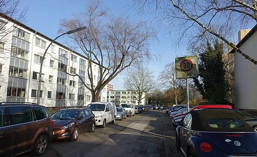 Everlingweg in Hamburg-Billstedt