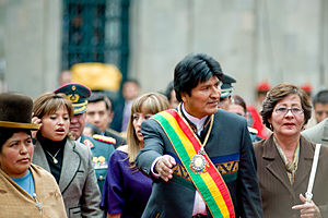 Evo Morales two years