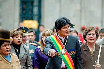 Evo morales 2 year bolivia Joel Alvarez