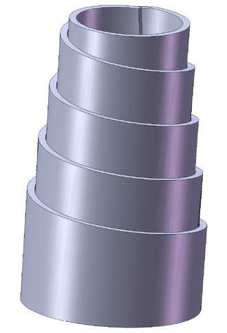 John Brown (industrialist) - Conical, or volute spring