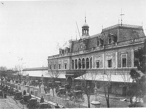 Province of Santa Fe Railway - Image: Ex estacion de omnibus belgrano