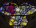 Exeter Cathedral, Stained glass window detail (36896997052).jpg