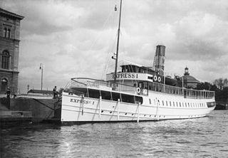 SS <i>Express I</i> former Swedish steamship and passenger ferry built in 1900 for the Waxholmsbolaget